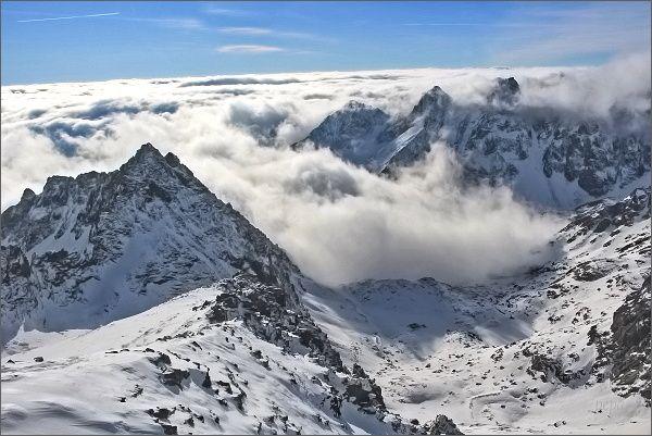 Vysoké Tatry, Kotlina Žabích plies z Rysov