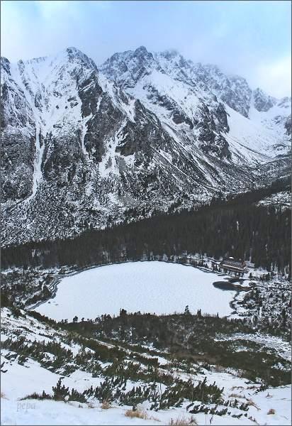 Vysoké Tatry, Ostrva a Bašty zpod Sedla pod Ostrvou