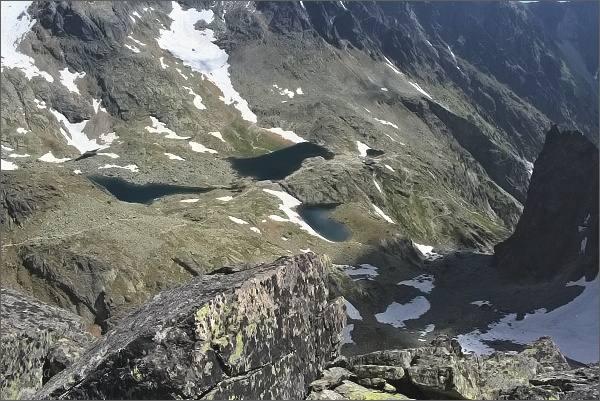 Kotlina Piatich Spišských plies ze Sokolej veže