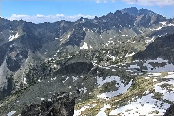 Veľká Studená dolina z Priečnej veže