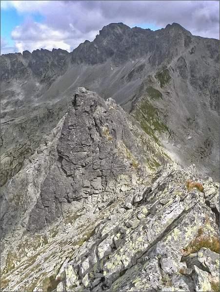 Veľká Furkotská veža z Ostrej