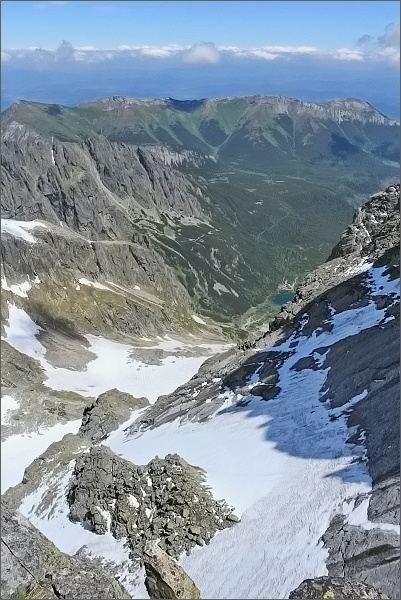 Veľká Zmrzlá dolina a Belianske z Ovčiarskej veže