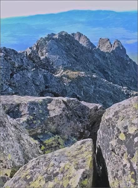 Soliskový hrebeň z Prostredného Soliska