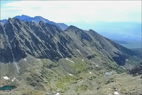 Nižší patra Mlynickej doliny z Prostredného Soliska