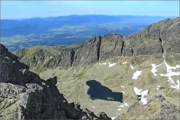 Furkotská dolina as Nižné Wahlenbergovo pleso z Prostredného Soliska