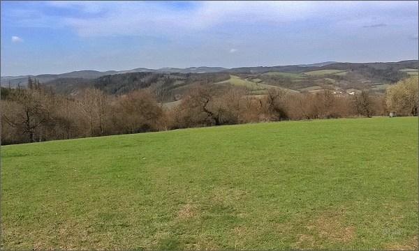Svratecká vrchovina od rozcestí Stanovisko
