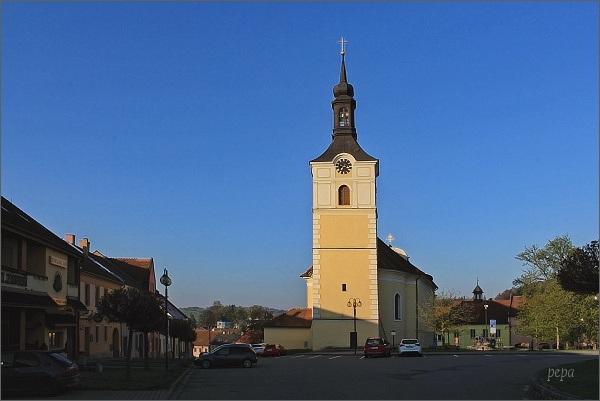 Olešnice, kostel sv. Vavřince