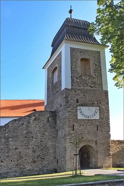 Velká Bíteš. Kostel sv. Jana Křtitele
