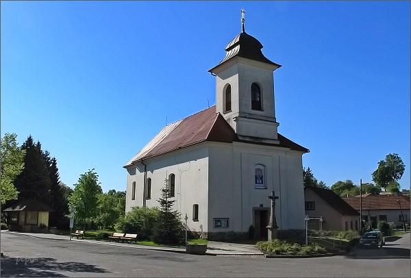 Křoví. Kostel sv. Petra a Pavla