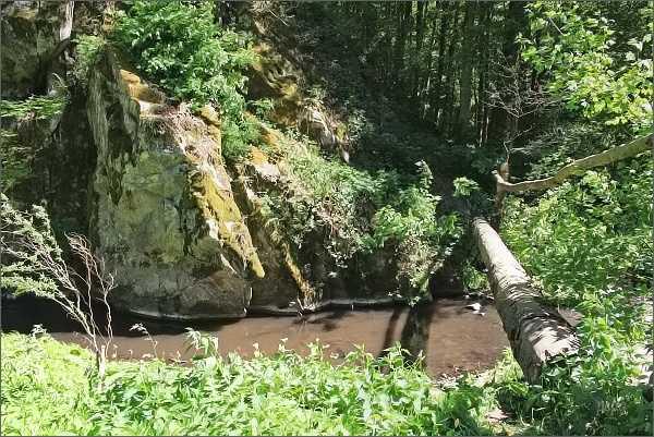 Romantická zákoutí Bílého potoka