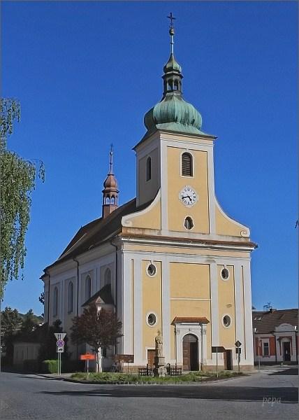 Veverská Bítýška. Kostel sv. Jakuba Většího