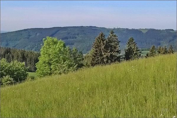 Rozhledna Karasín z Javorova kopce