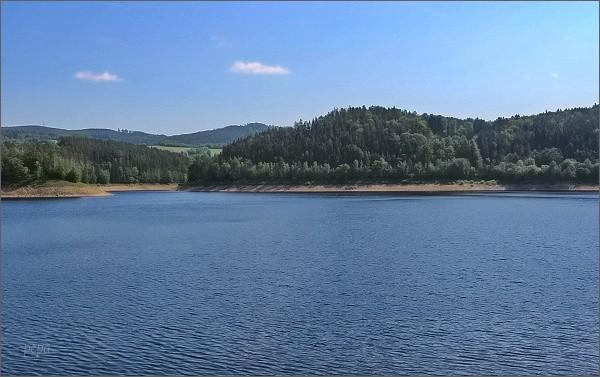 Rozhledna Horní les od Vírské přehrady