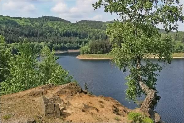 Vírská přehrada, Kobylí vyhlídka