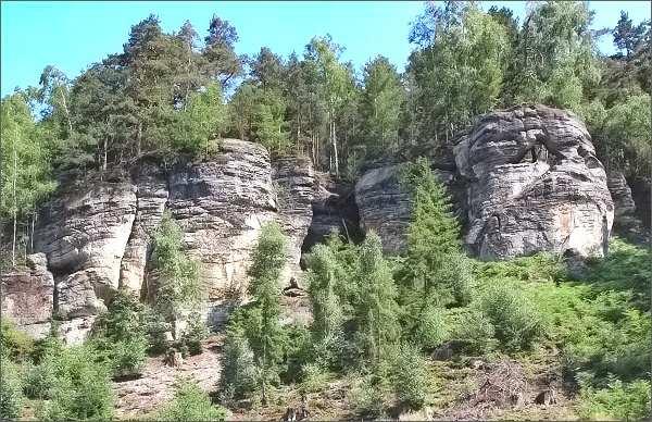 Skály nad Bukovým údolím