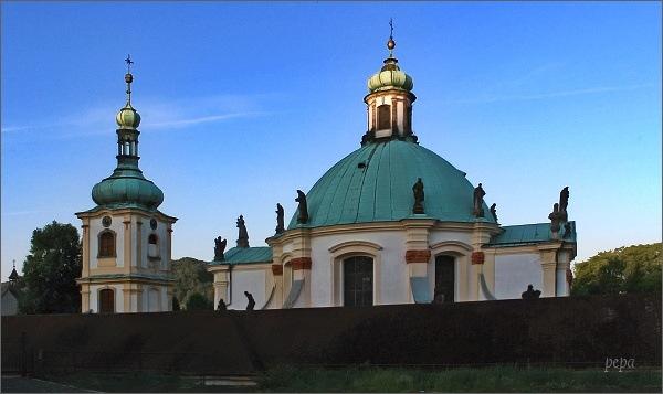 Česká Kamenice. Barokní kaple Narození Panny Marie