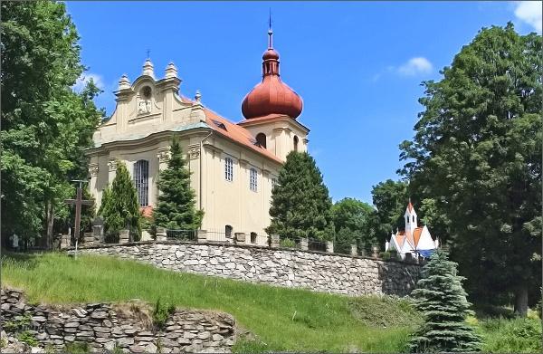 Kostel Nejsvětější trojice v Polevsku