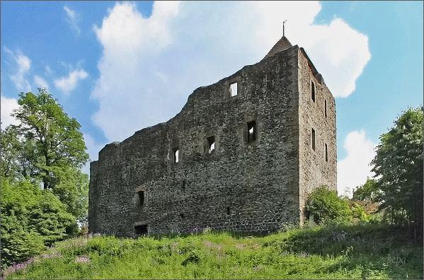 Hrad Kamenice na Zámeckém vrchu