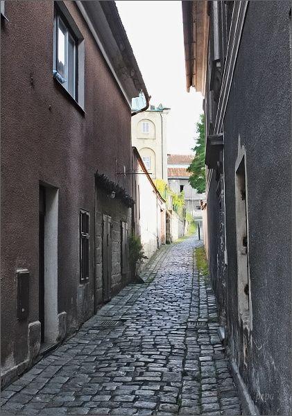 Staré uličky České Kamenice
