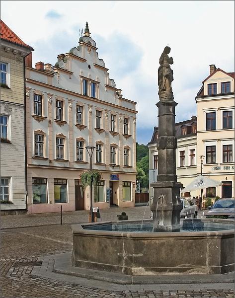 Historické centrum České Kamenice