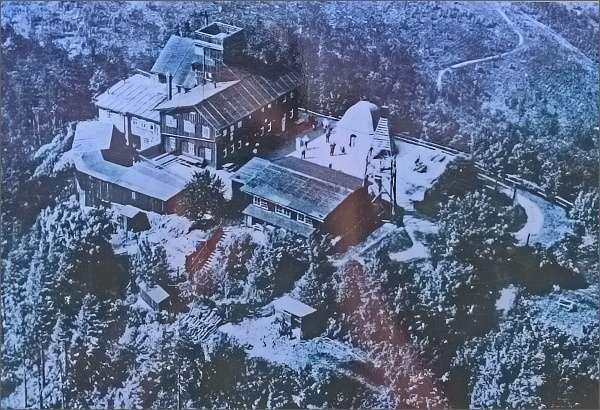 Chata na Luži kolem roku 1930