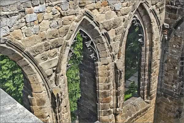 Hrad Oybin, klášterní kostel
