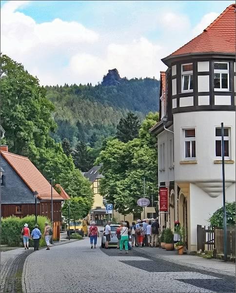 Kurort Oybin a Scharfenstein