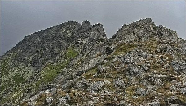 Hřeben Ostrých veží opd Sedielkového priechodu