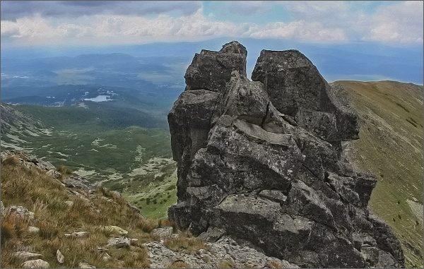 Jižní vrchol Ostrej veže
