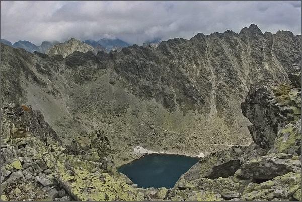 Závěr Furkotskej doliny a Soliská z Ostrej