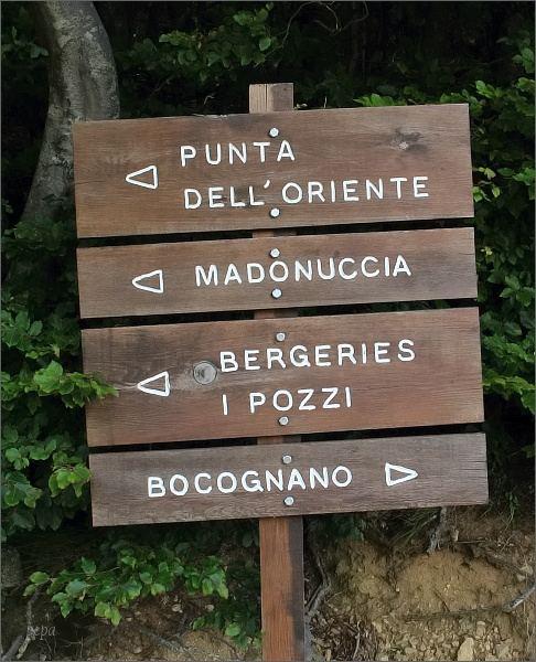 Směr Punta Dell´Oriente