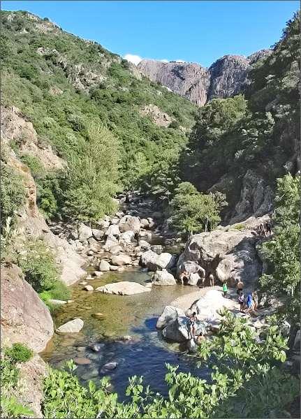 Řeka Gorge de Spelunca