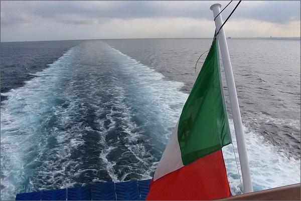 Pod italskou vlajkou
