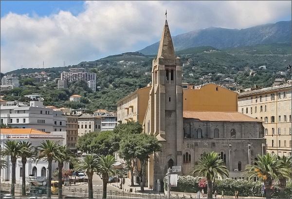 Bastia, kostel Notre-Dame de Lourdes