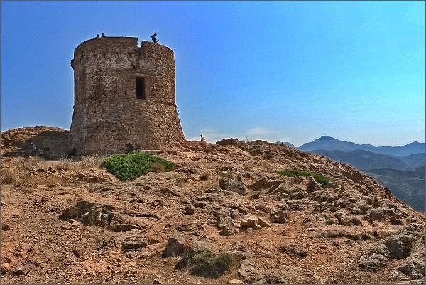 Janovská věž (Tour de Turghiu) na Capo Rosso