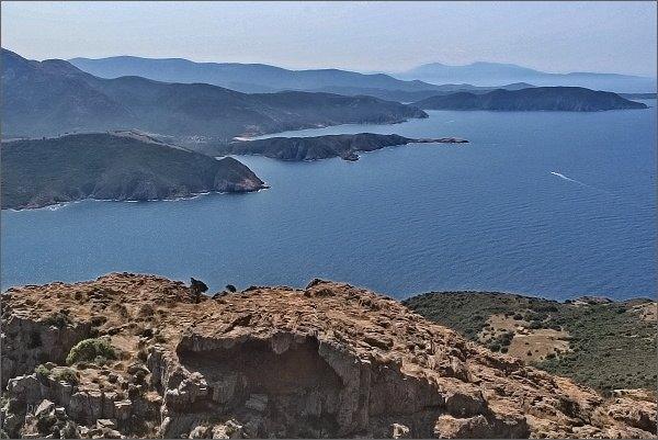 Korsické západní pobřeží