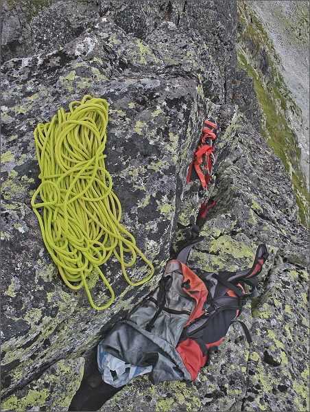 Zachráněné horolezecké lano