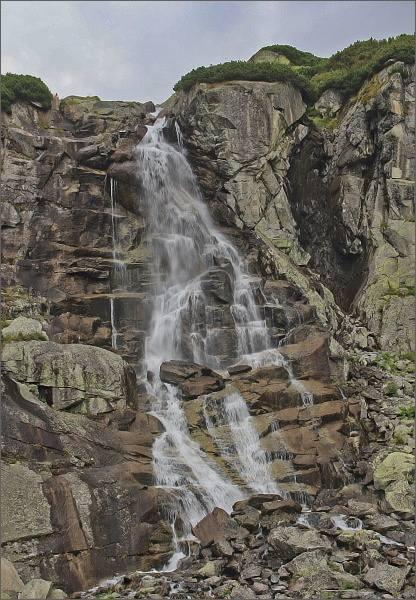Mlynická dolina, vodopád Skok