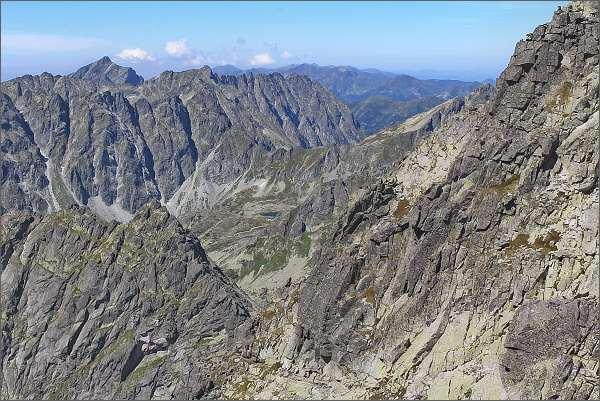Mengusovská dolina z Dračieho štítu