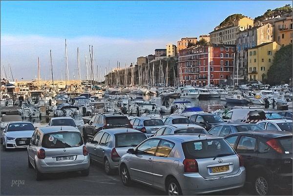 Bastia, starý přístav