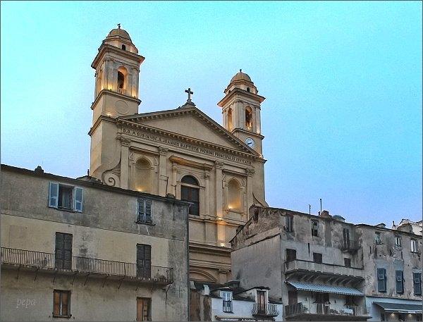 Bastia, kostel Église St-Jean Baptiste
