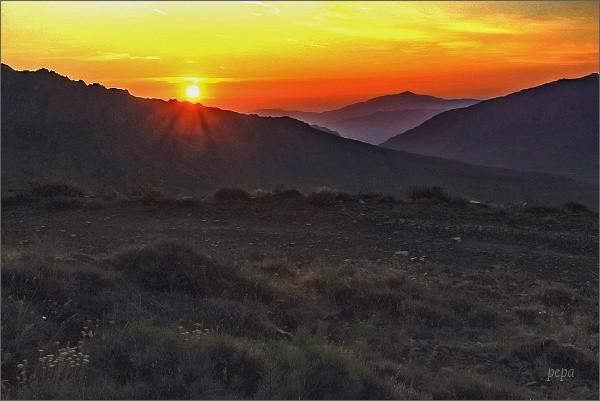 Svítání pod Monte Cintem