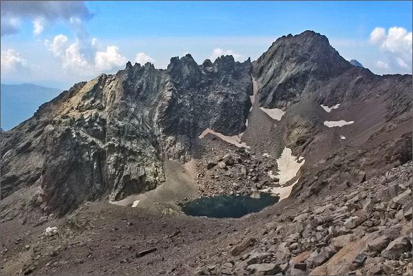 Capu Falu a Lac du Cinto