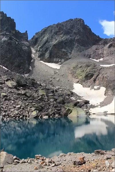 Lac du Cinto a Capu Falu