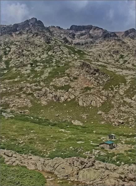 Monte Cinto a chata Erco