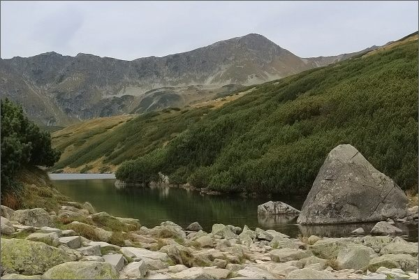 Dolina Pięciu Stawów Polskich a Hladký štít