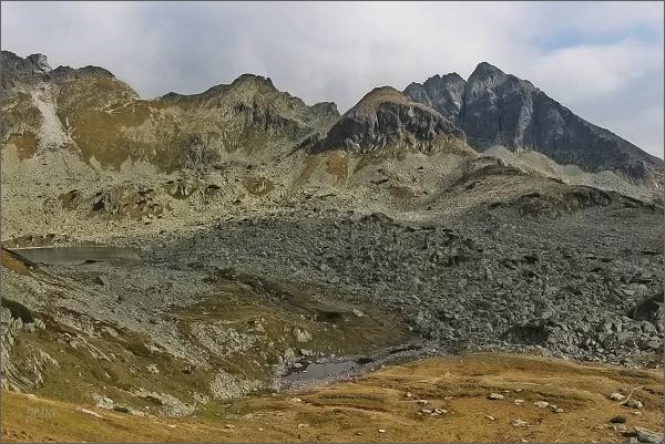 Dolina Pięciu Stawów Polskich. Kozi Wierch, Mały Kozi Wierch a sedlo Zawrat