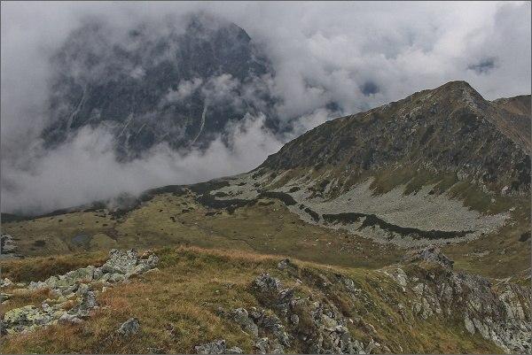 Hladký štít, pohled ke Kôprovej doline