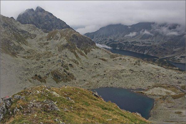 Dolina Pięciu Stawów Polskich z Valentkovej