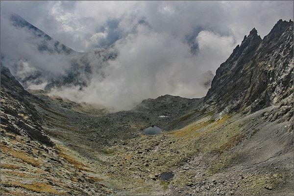 Rumanova dolina z Východného Rumanovho sedla